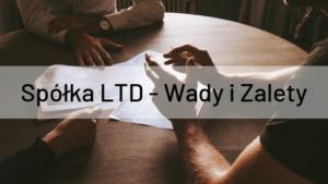 Spółka LTD - Wady i Zalety